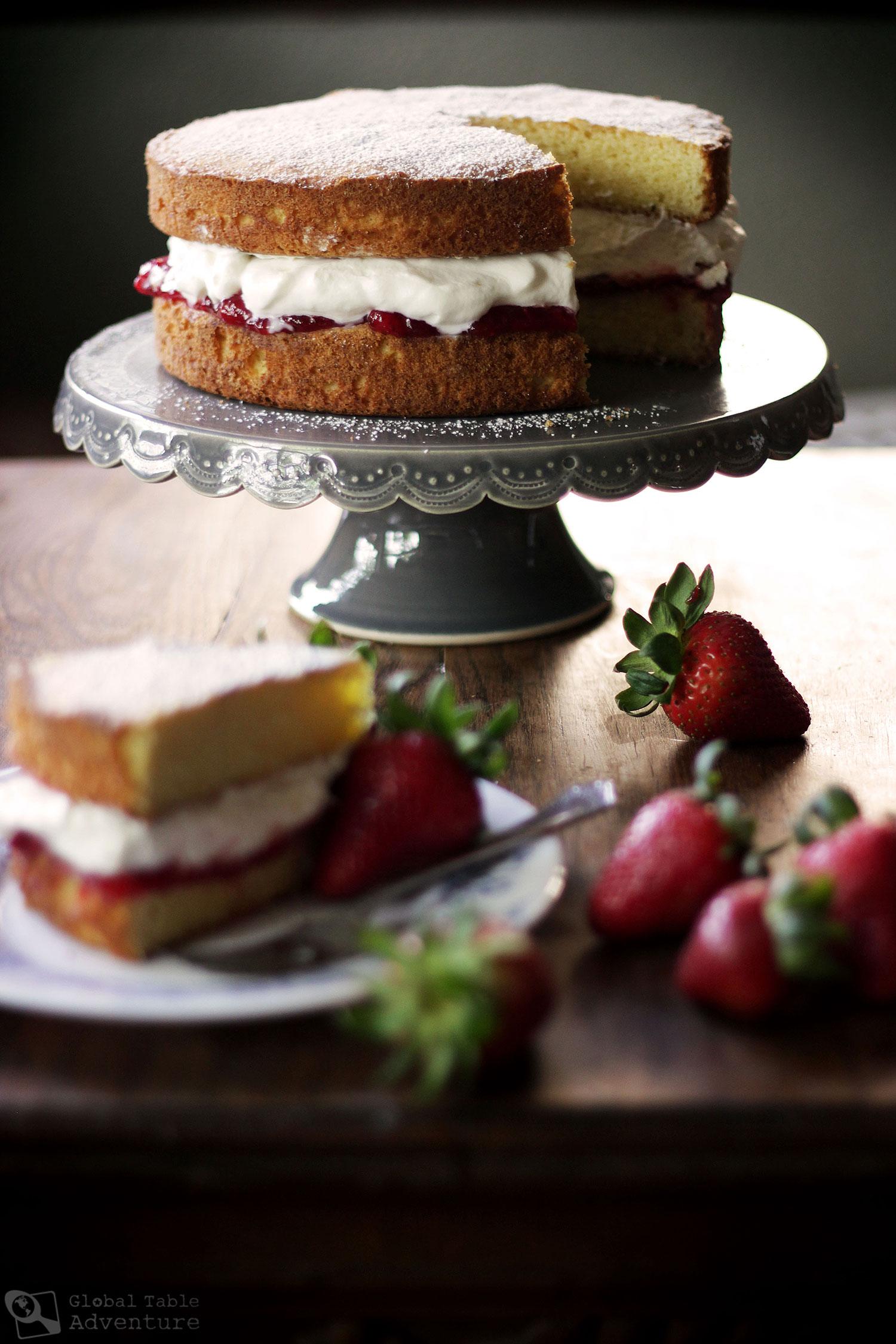 Recipes for a victoria sponge cake