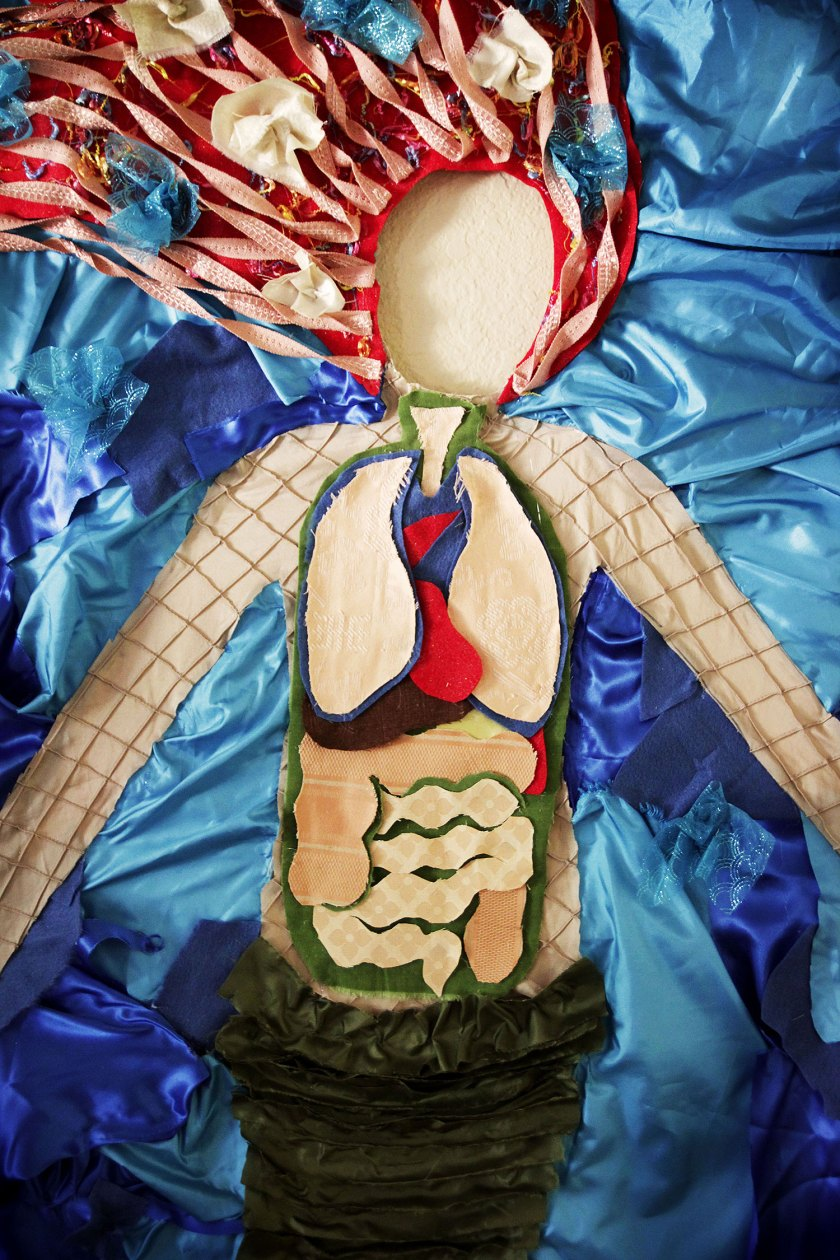 Science of Mermaids Birthday Party: Anatomy photo opp