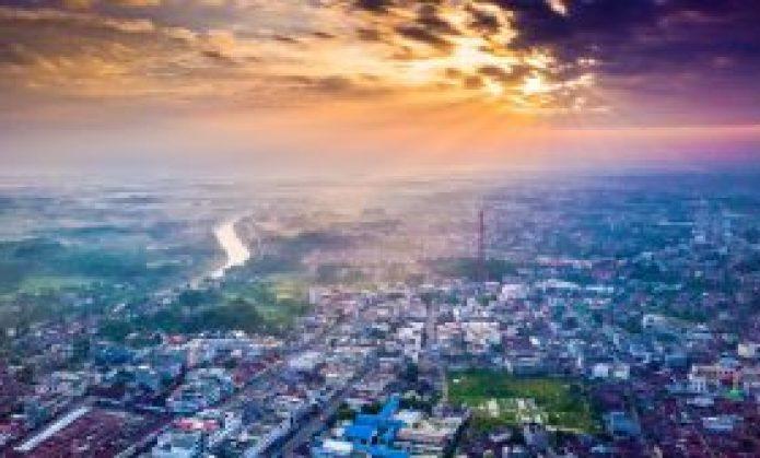 Rantau Prapat Sunrise Captured with DJI Mavic Pro