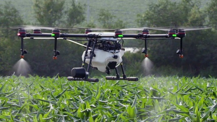 top-agricultural-crop-spraying-drones-GlobalTechGadgets