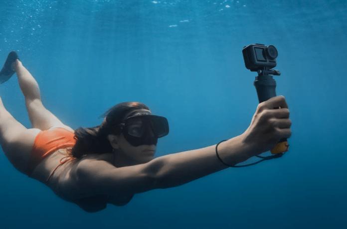 DJI Osmo Action Waterproof 4K camera