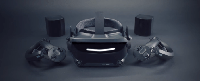 Valve Index VR Headset, Controllers