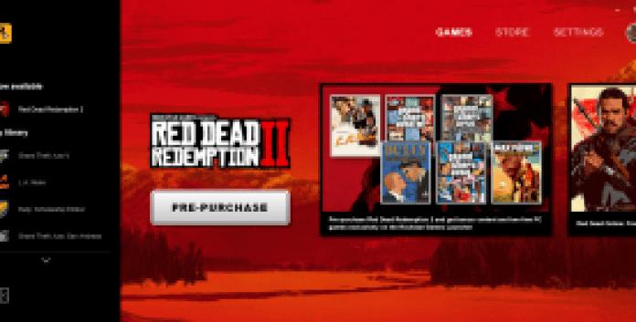 Rockstar Game Launcher Pre-Purchase Bonus for Red Dead Redemption 2 PC