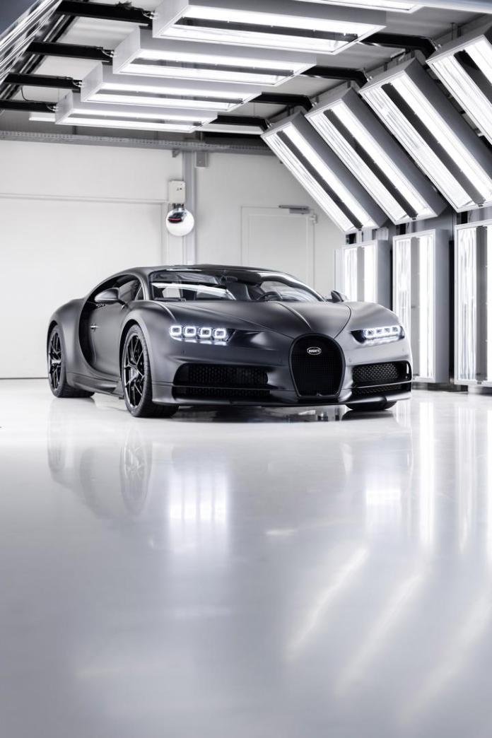 Bugatti Chiron Edition Noire Sportive Hyper Sports Car