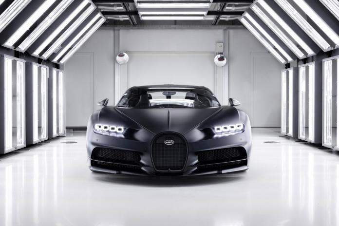 Bugatti Chiron Edition Noire Sportive Model