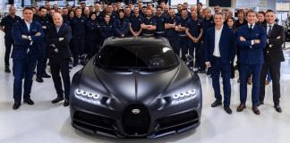 Bugatti Chiron Edition Noire Sportive Revealed