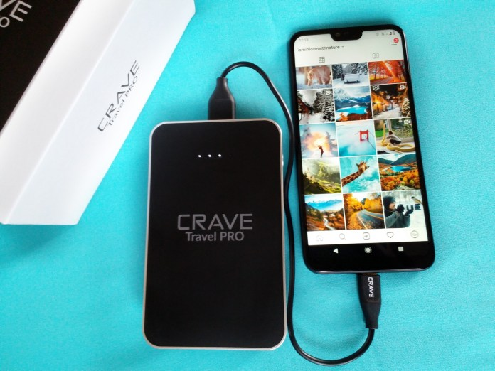 Crave Travel Pro Power Bank