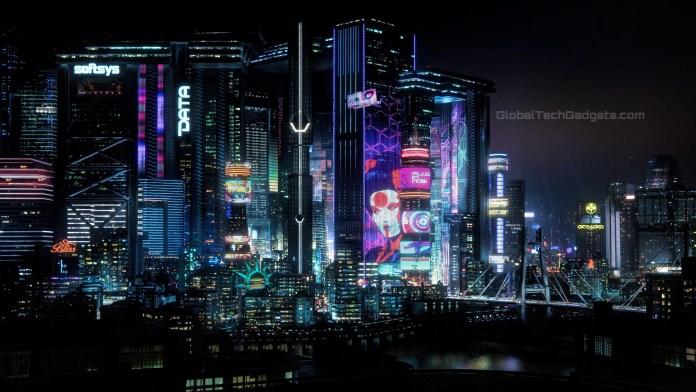Cyberpunk 2077 Night City Map
