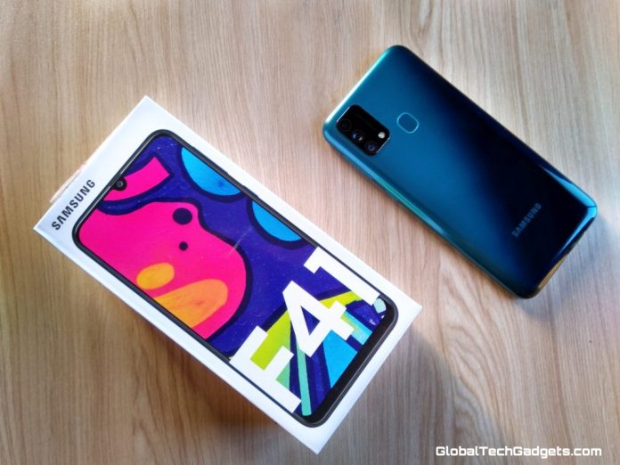 Samsung Galaxy F41 Unboxing