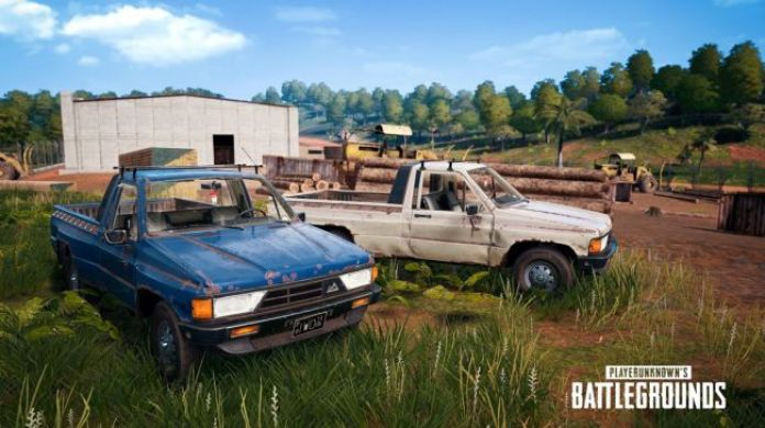 PUBG 0.9.0 update - Rony Pick-up Truck