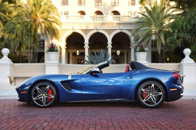 Ferrari F60 America side view