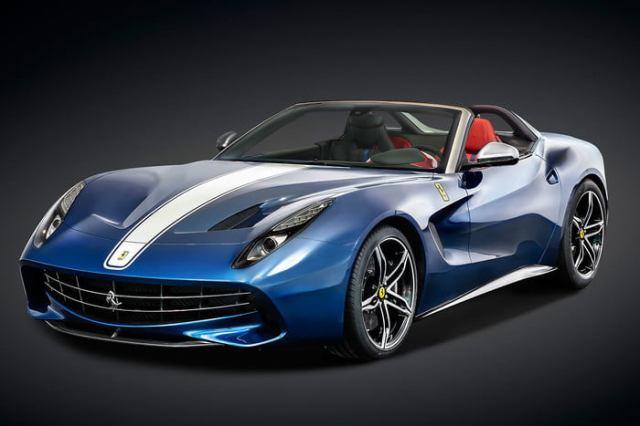 Ferrari F60 America Blue
