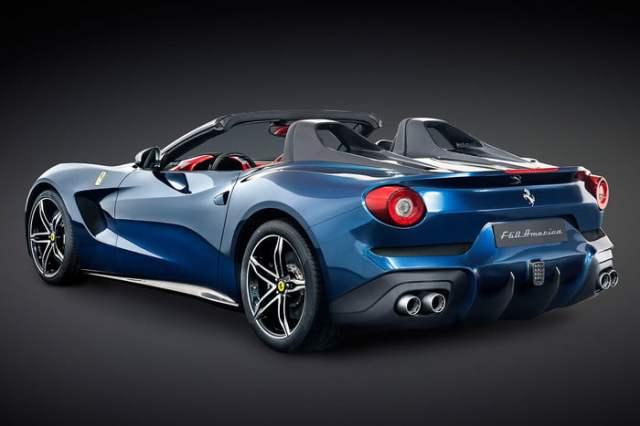 Ferrari F60 America Backside
