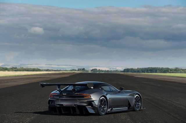 Aston Martin Vulcan Back Side