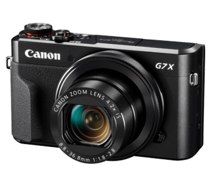 Canon PowerShot G7 X Mark II - Best cameras for beginners