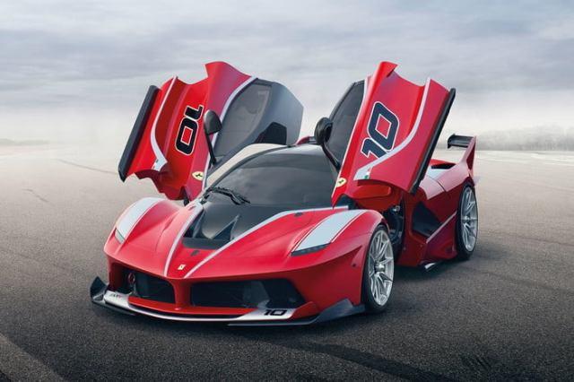 Ferrari LaFerrari FXX doors