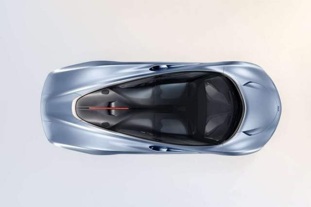 McLaren Speedtail Top View