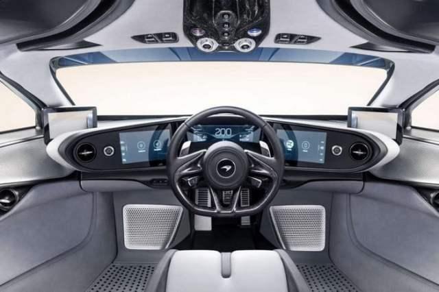 McLaren Speedtail Dashboard
