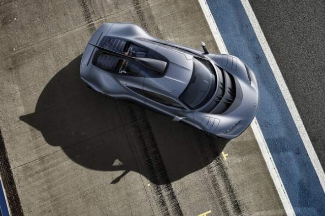 AMG One Top View