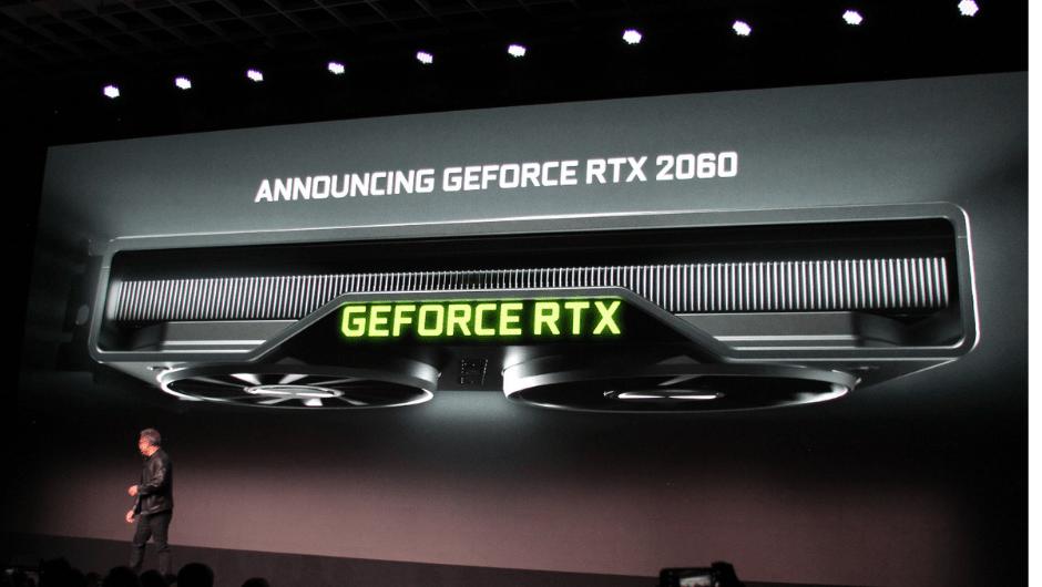 NVidia announces GeForce RTX 2060 Graphic Cards