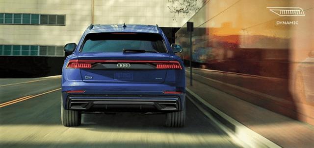 Audi Q8 SUV Back
