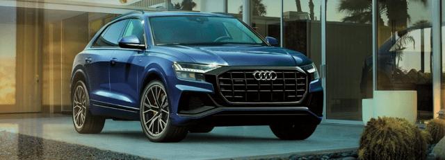Audi Q8 SUV Front