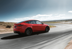 Tesla Model Y crossover SUV unveiled