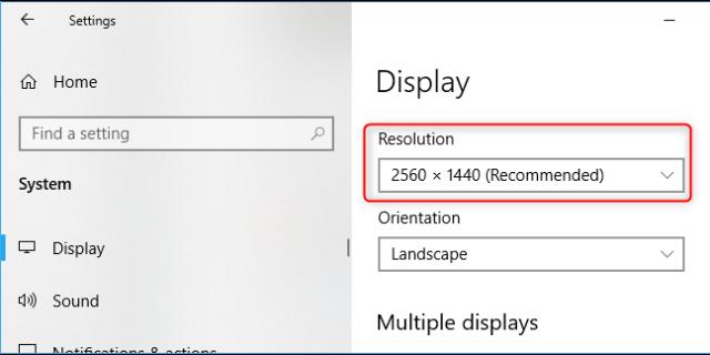 PC 4K 3840×2160 pixels display