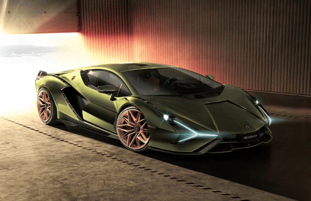 Lamborghini Sian FKP 37 Design and Look