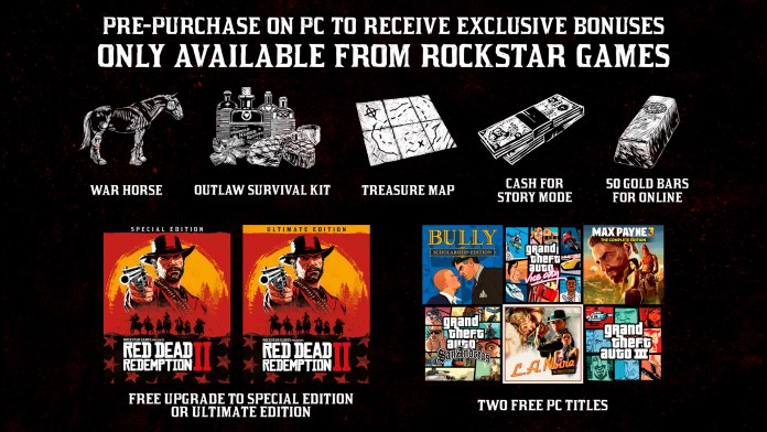 Rockstar Game Launcher Bonus for Red Dead Redemption 2 PC
