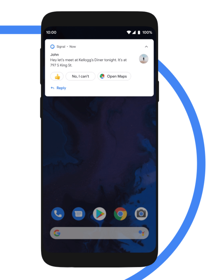 Smart Reply - Android Q
