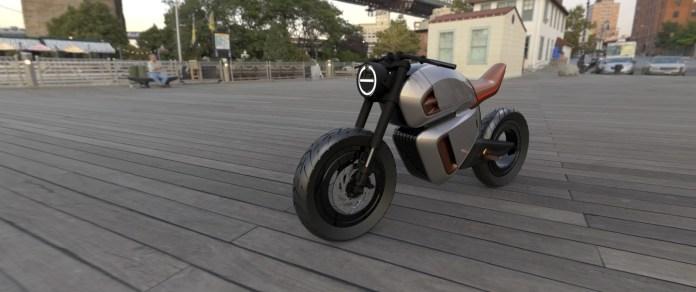 NAWA Racer Electric MotorBike Concept