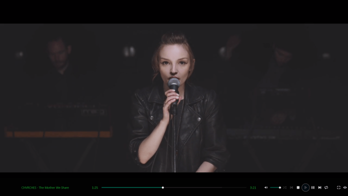 CHVRCHES SONG STREAMING IN AUDIALS ONE 2020