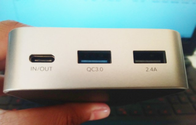 Crave Travel Pro Dual USB Charging Ports with Type-C Quick Charge Technology.