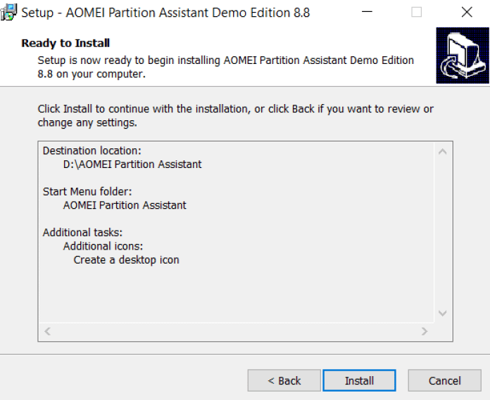 AOMEI Partition Assistant PRO Installation with License Key