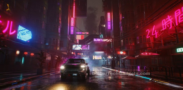 Cyberpunk 2077 Night City Neon Lights