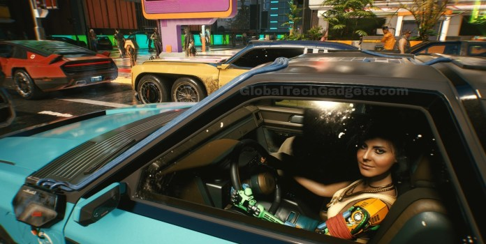 Sports Cars, Vehicles in Cyberpunk 2077