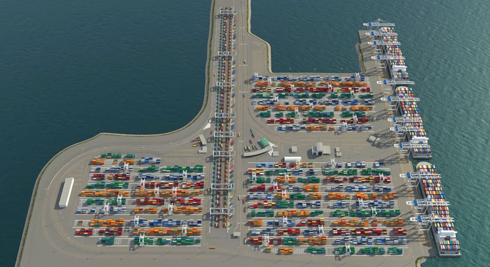 Gct Deltaport Intermodal Yard Reconfiguration Project