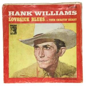 Hank Williams 'Your Cheatin' heart'