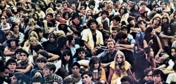 1960's concert crowd