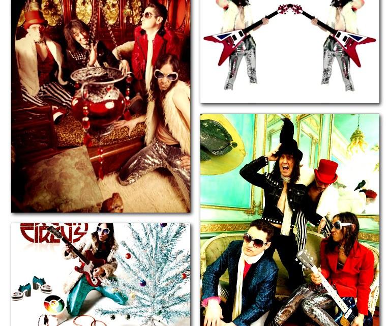 Glamorous Creem Circus Christmas