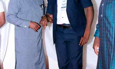 L-R: Comr. Ja'afar M. Loko, YAN, Speaker in Nasarawa State and Comr Jibrin Idris Ojoko, Chairman, NYCN who double as 36 States Forum Chairman of the council