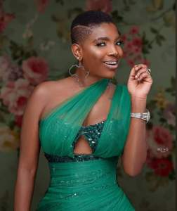 The African Queen Crooner and wife to 2Baba Idibia, Annie Idibia