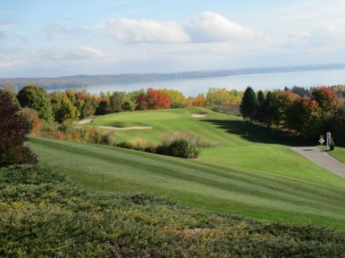 Member Dale G. made us envious of his trip to A-Ga-Ming Resort (Kewadin, Michigan). The views of Torch Lake are stupendous.