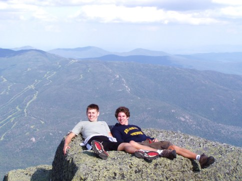 View from atop Mount Washington in the White Mountains. Photo courtesy of member Gerard K.