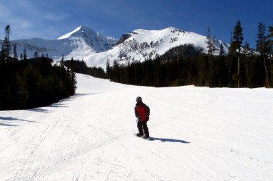 Member James B. - Who's ready for some snowboarding? Taken in Island Park, Idaho.