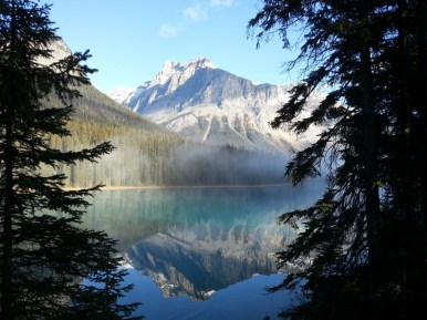 Diana M. got this tremendous photo passing through Lake Louise in Alberta, Canada.