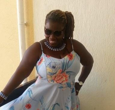 Member Beverly M. striking a pose in St. Maarten.