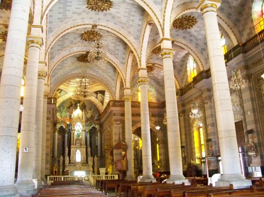 The world has endless wonders, many of which you can't see without traveling. This impressive room is the Immaculate Conception Cathedral in Mazatlan, Mexico, courtesy of member Richard R.