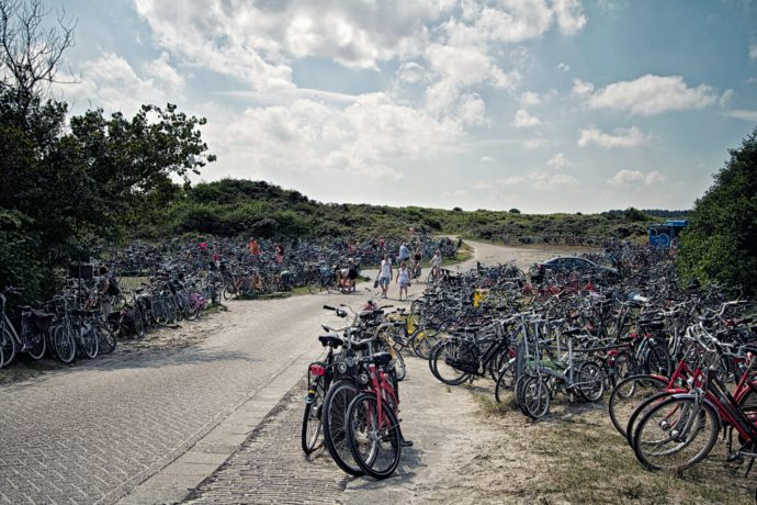 Bike parking. Photo credit: Michiel Jelijs/Flickr